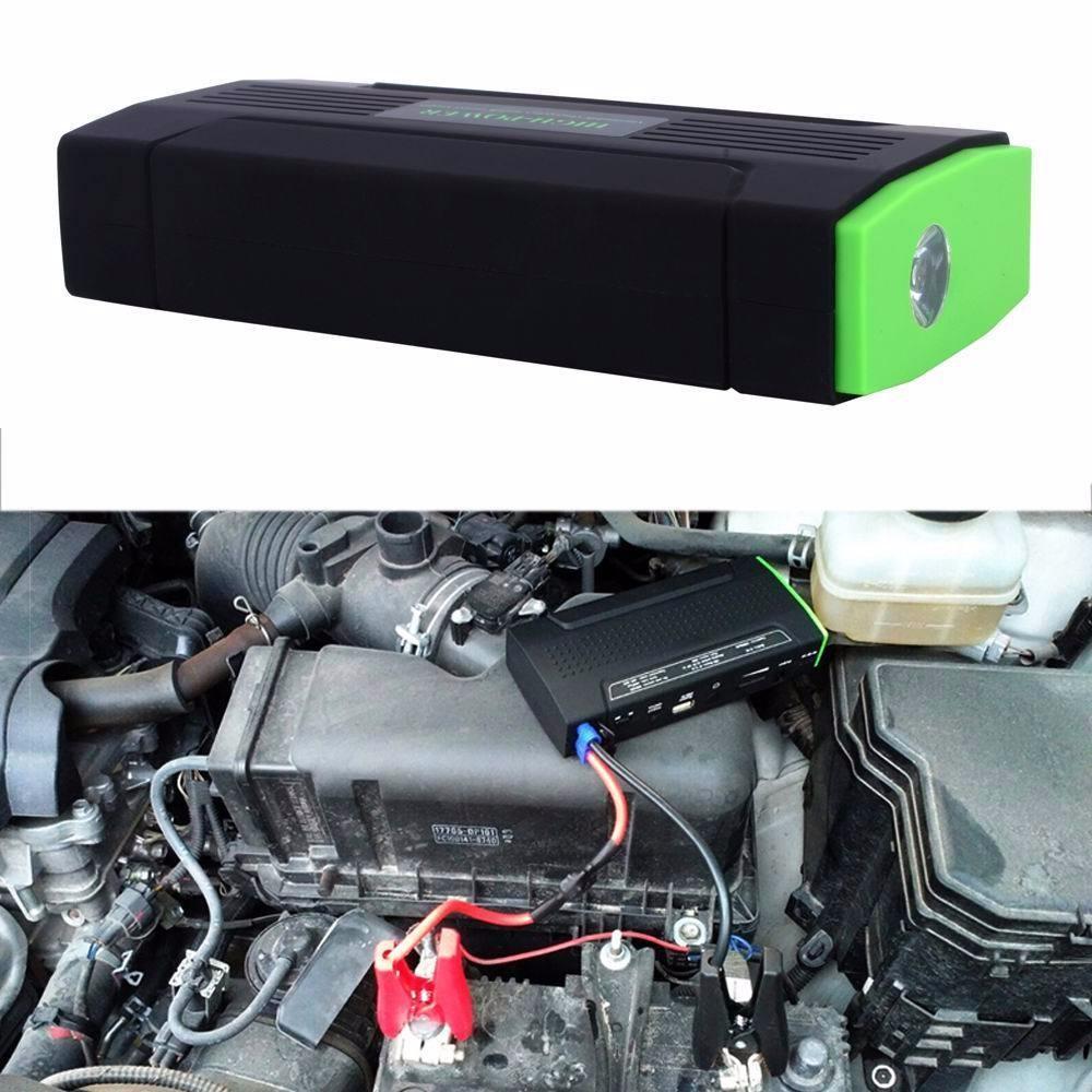 12v 38000mah car jump starter pack led booster mobile. Black Bedroom Furniture Sets. Home Design Ideas