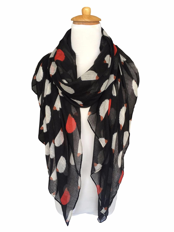 echarpe femme foulard motifs animaux la mode multicolore cheval panda el phant ebay. Black Bedroom Furniture Sets. Home Design Ideas